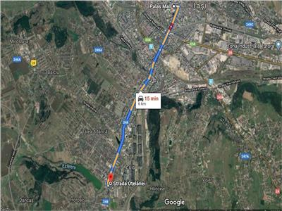 Teren Cug 8611mp la 6 km de Palas Mall